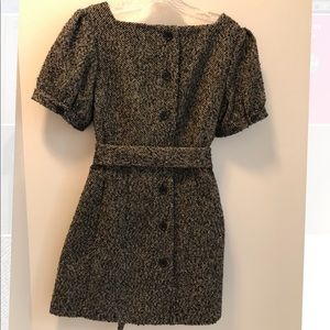 Brand New fully lined button backed dress